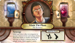 Minh Thi Phan ~ Elder Sign - Omens of the Deep