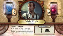 Calvin Wright ~ Elder Sign - Omens of the Pharaoh