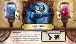 Lola Hayes ~ Elder Sign - Omens of the Deep