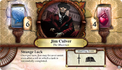 Jim Culver ~ Elder Sign - Unseen Forces