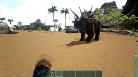 Don't Pet hyenas Ark Ragnarok 1