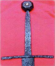 Espada de caballero, c. 1400-01