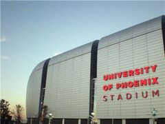 University of Phoenix Stadium sunset20071230