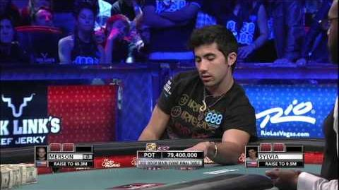 2012 World Series Of Poker Final Hand