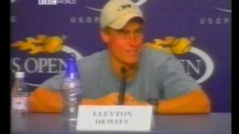 Lleyton Hewitt vs. James Blake (US Open 2001 - Round 2)