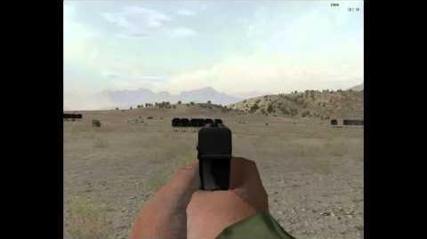 Пистолет стриж пустынный орёл-1