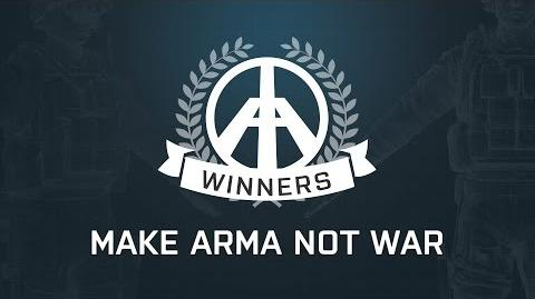 Make Arma Not War - Winners