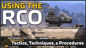 Using the Arma 3 RCO Scope