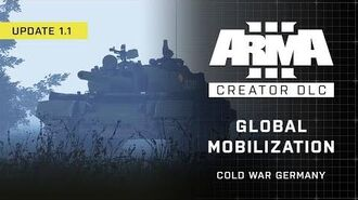 Arma 3 Creator DLC Global Mobilization - Cold War Germany Update 1.1 Trailer