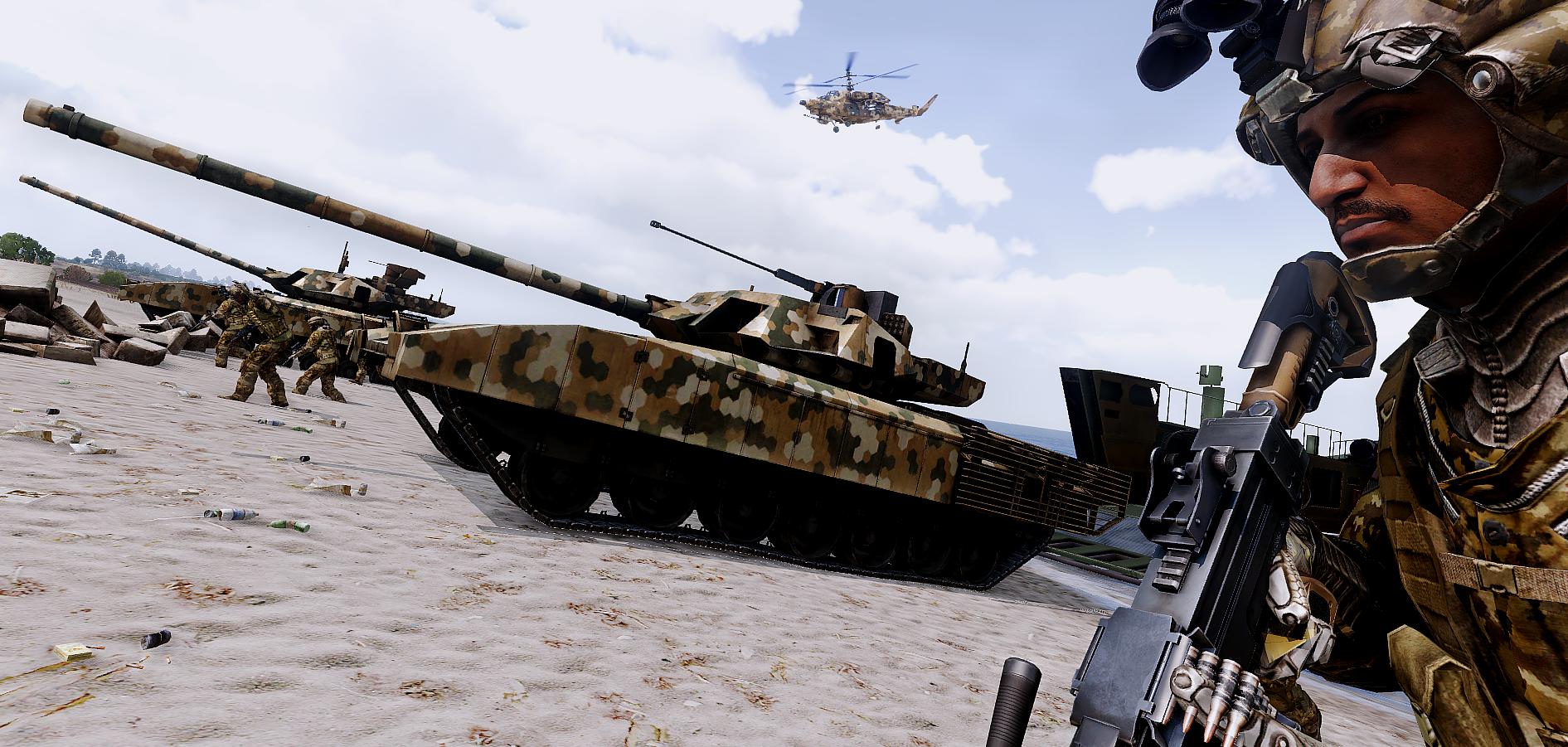 T-140K Angara | Armed Assault Wiki | FANDOM powered by Wikia