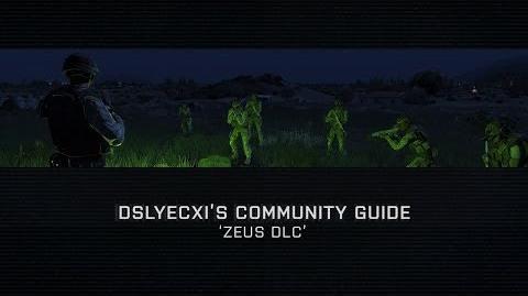 Arma 3 - Community Guide Zeus DLC