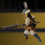 Hargrave battle pose