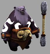 Bear Warcaster Model