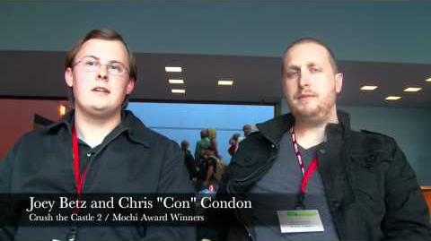 2011 Mochi Awards Interview with Crush the Castle 2 Developers Joey Betz and Chris Condon