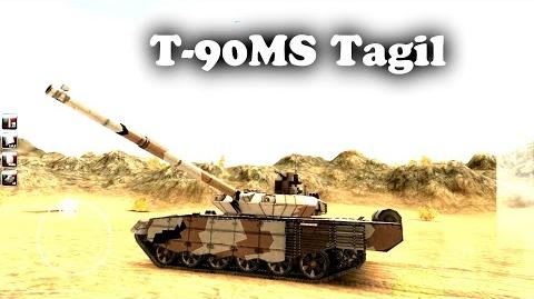 Armored Aces tank Review T-90MS Tagil