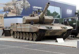 Leopard 2 A7, Eurosatory 2010