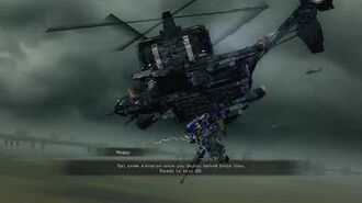 """Armored Core Verdict Day Mission 1 """"Dirty Worker"""""""