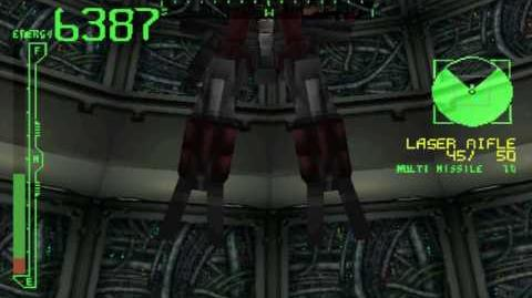 Armored Core Destroy Floating Mines