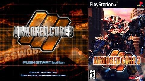 Armored Core 3 (PS2 Title Intro)