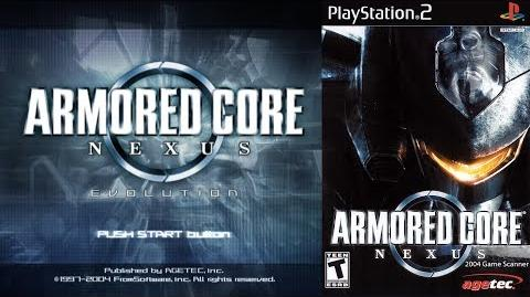 Armored Core Nexus (PS2 Intro)
