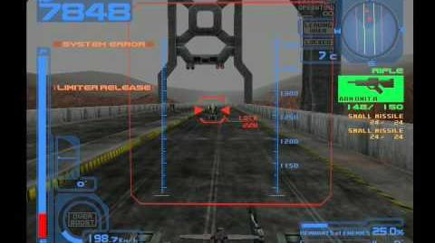 Armored Core 2 Ground Base Attack