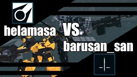 ACVD - helamasa vs barusan san - Armored Core Verdict Day