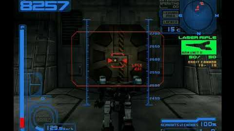 Armored Core 2 Destroy Radar Base