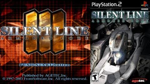 Silent Line Armored Core (PS2 Intro)