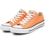 Rick Jones' Orange & White Converse Shoes