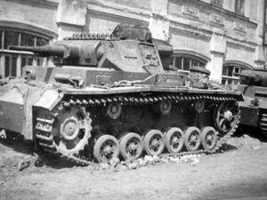 German medium tanks Panzer III eastern front