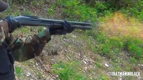 Shooting Remington 870 shotgun for the first time