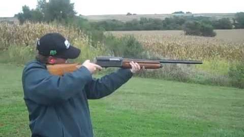 Shooting the Browning Auto-5 shotgun