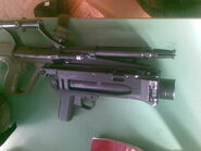 Steyr AUG A1 and AG-C