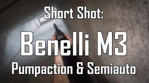 Short Shot- Benelli M3 Pumpaction & Semiauto Flinte