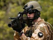 Neuseeländischer Soldat mit SA A1