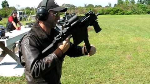 KRISS SUPER V VECTOR SMG FULL-AUTO TEST SHOOT ROCKS !!!!!