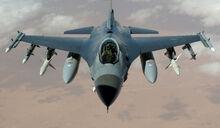 F-16 von vorne