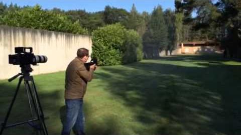 Shooting the FN P90