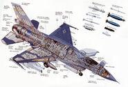 F-16 Aufbau