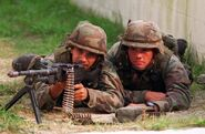 US Marines M240G