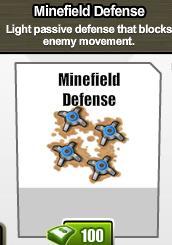 MinefieldDefense