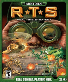 ArmyA Men - RTS Coverart