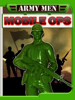 軍隊の男性のモバイル
