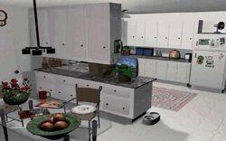 Army Men Kitchen