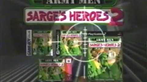 Army Men Sarge's Heroes 2 game commercial