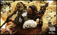 A2 Devils Cartel Explosive destruction wallpaper 1920x1200