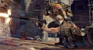 Army of two screens