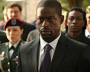 250px-Sterling K Brown as Army Wives character Roland Burton