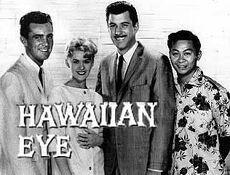 Intriga en Hawaii- poster