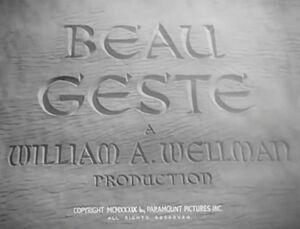 Beau Geste -1939- 1a